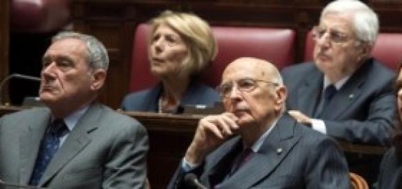 Grasso, Napolitano, Boldrini: amnistia e indulto