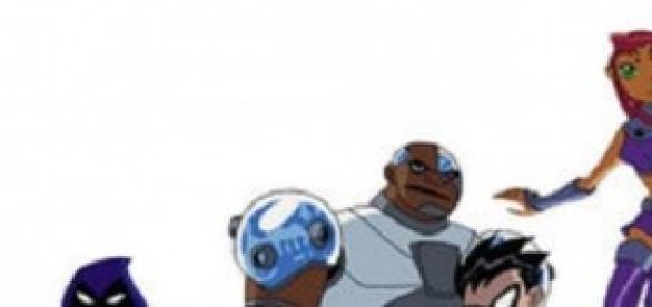 Los jovenes titanes en la versión de 2003.