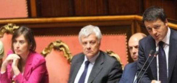 Riforme 2014, Millegiorni, Renzi in Parlamento