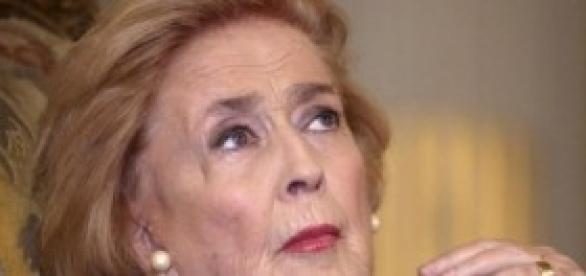La actriz padecía neumonía