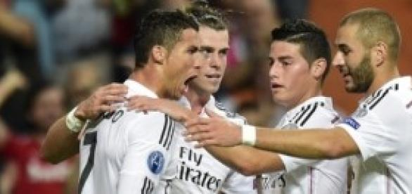 Ronaldo celebra su gol. Foto: Youlima.com