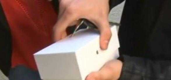 Mala suerte del comprador del Iphone 6