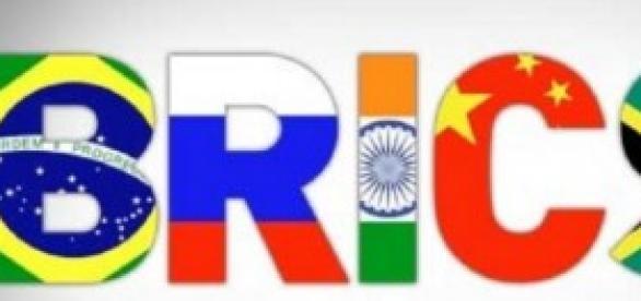BRICS: Brasil, Rússia, Índia, China, África do Sul