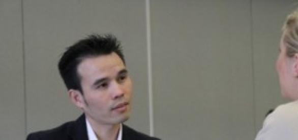 Foto de entrevista de trabalho