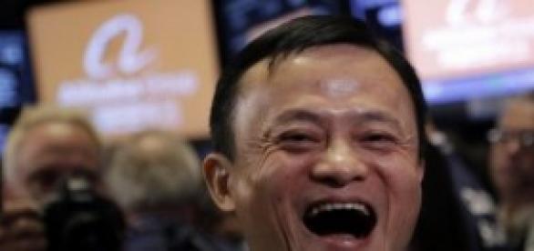 Jack Ma fundador y presidente de Alibaba