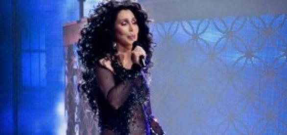 Cher en una de sus actuaciones.