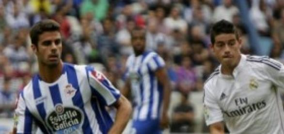 Imagen del partido Deportivo-Real Madrid