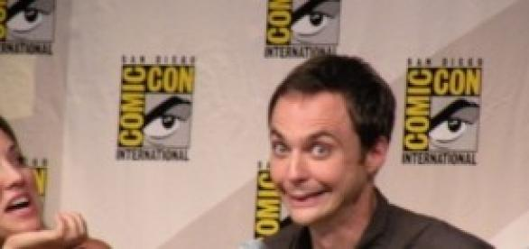 Jim Parsons en la Comic Con.