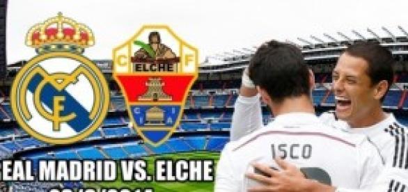 Real Madrid vs Elche jornada 5