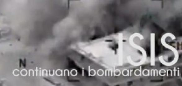 Isis, pubblicato il video dei bombardamenti