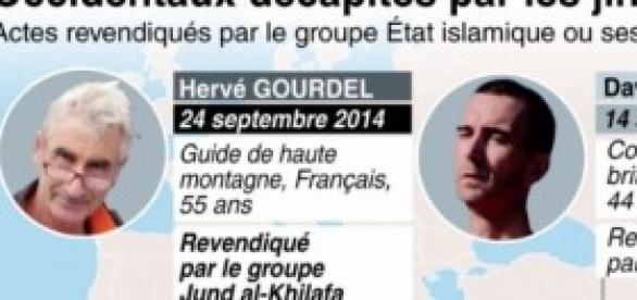 l'otage français assassiné