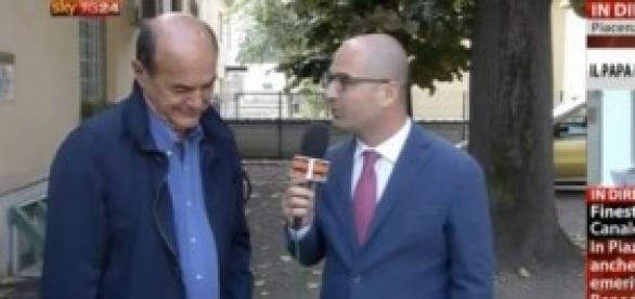Intervista di Sky a Pier Luigi Bersani