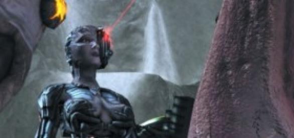 Ilustración de una Reina Borg