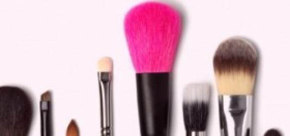 Jogo de pincéis para maquiagem