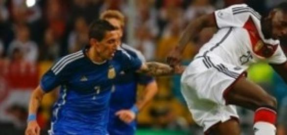 Di María destacó en la selección argentina
