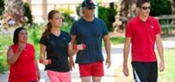 Caminar,un ejercicio muy saludable.
