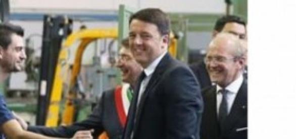 Il premier inaugura le Rubinetterie Bresciane