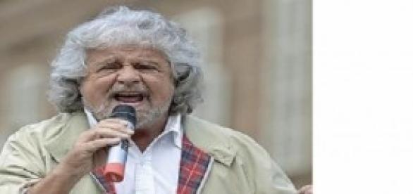 Beppe Grillo leader del M5S