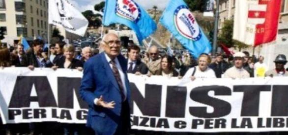 Amnistia e indulto: Pannella, Napolitano e Renzi