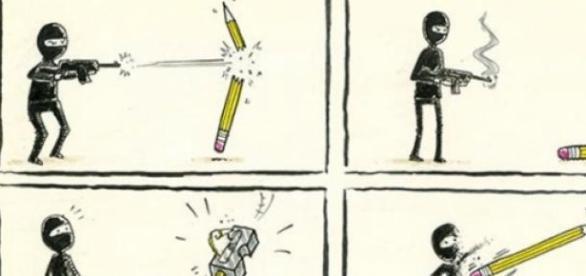 Eterna luta entre o bem e o mal: Violência x Humor