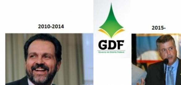 Governo do GDF: sai Agnelo, entra Rodrigo