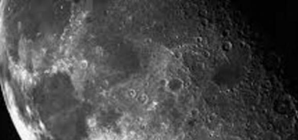 Imagem da lua a ser explorada
