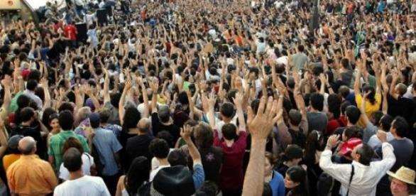 La 'Marcha a Moncloa' invade Madrid