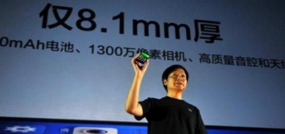 Lei Jun, patron de Xiaomi : avec 5,3 % du marché