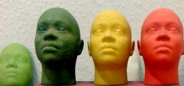 Miniaturas da face humana, através de impressão 3D