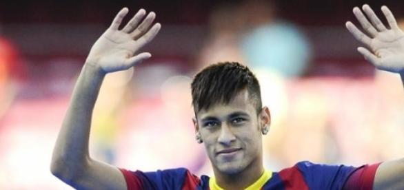 El jugador brasileño, Neymar.