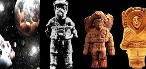 Extraterestrii au fost numiti zei de catre oameni
