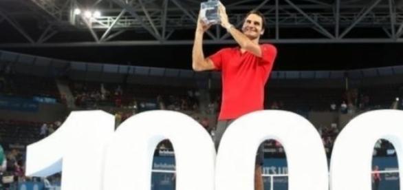 Federer no top 3 do ténis mundial