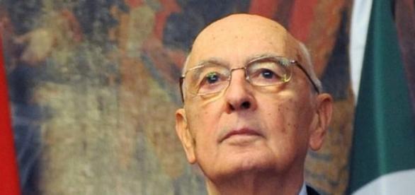 Giorgio Napolitano e l'addio al quirinale