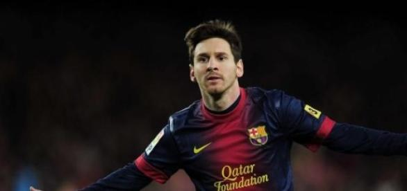 LIonnel Messi en plan grande
