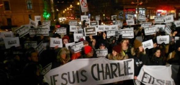 Paris, mars, terorism. solidaritate, presedinte