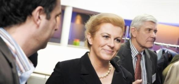 Presidente de direita eleita na Croácia.