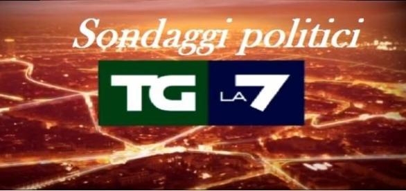 Sondaggi politici elettorali Emg La7 12/01/2015