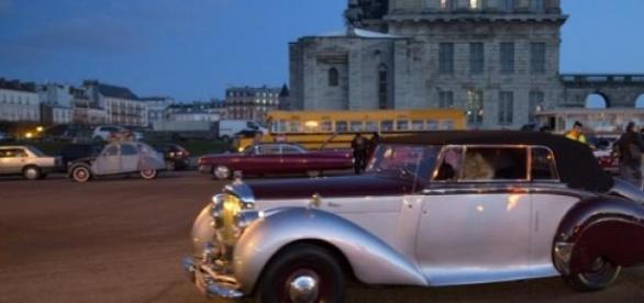 Une auto de la Traversée de Paris