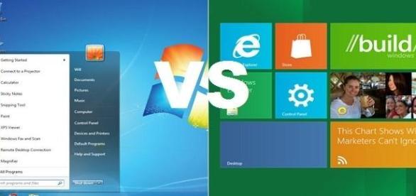 Windows 7 Versus Windows 8. Cine castiga?