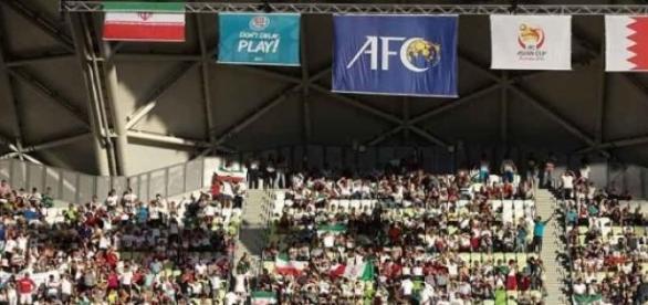18 mil iranianos apoiaram a equipa na Austrália