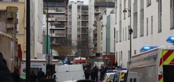 As ruas de Paris lugar do último ataque terrorista