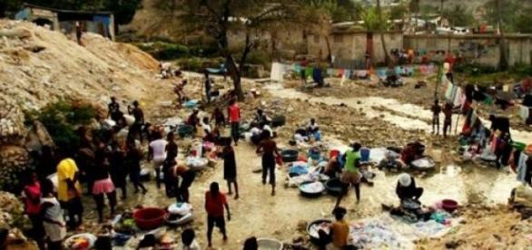 Les conditions de vie sont dures à Haïti.