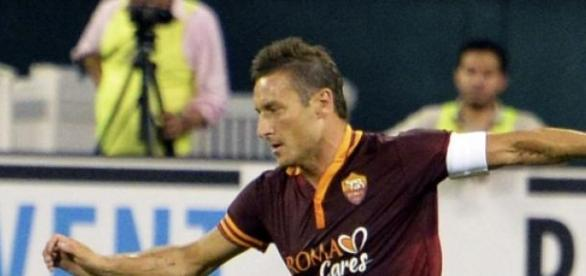Totti veste a camisola da AS Roma desde 1992.