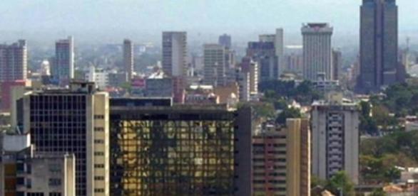 Vista de Valencia, importante ciudad en Venezuela