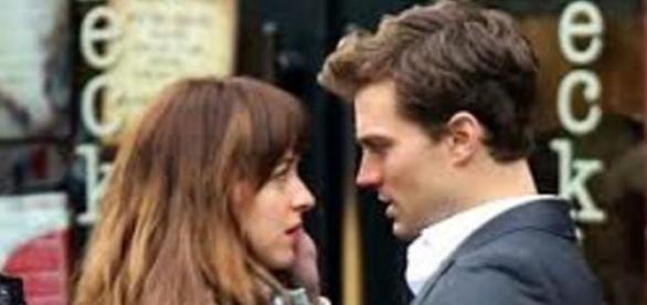 Casal Christian Grey e Anastasia Steele
