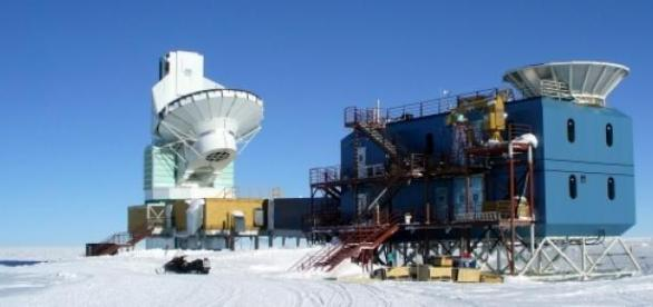 Experimento BICEP en el Polo Sur