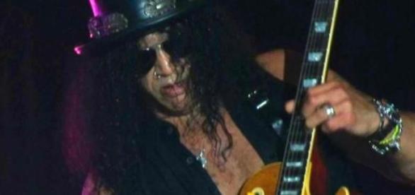 Slash en una presentación en 2011