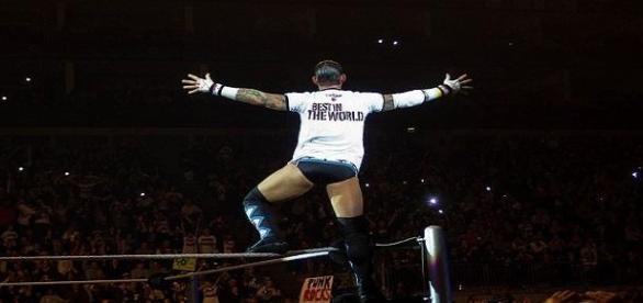 Cm Punk en un House Show de WWE