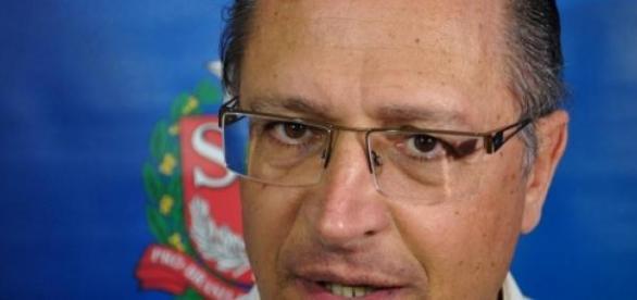 O governador de São Paulo Alckmin
