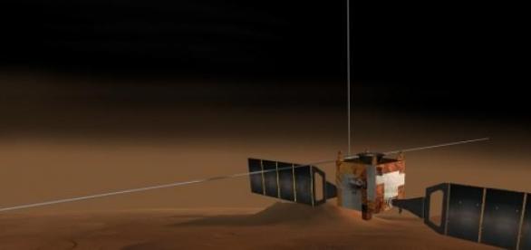 La misión Mars Express fue organizada por la ESA